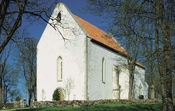 Karja church in Saaremaa