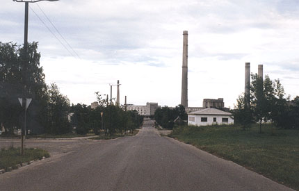 The cement factory in Kunda