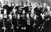 The brass band of the Moravian Brothers