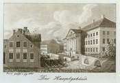Main building of Tartu University in 1821