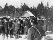 Punitive troops during the 1905 revolutionary events in Tallinn