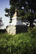 The first stupa in Estonia