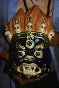 Mask of Mahakala made in Taola