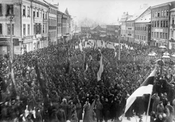 Demonstration in Tartu, autumn 1917